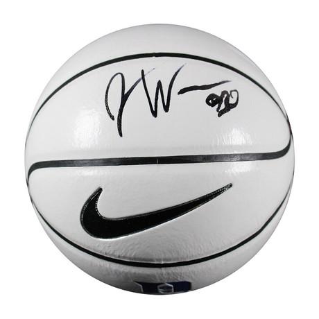 Justise Winslow // Signed Mini Duke Logo Basketball