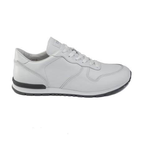 Leather Sneaker // White (UK 6)