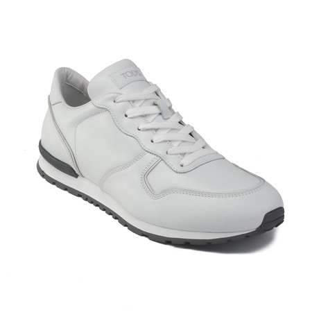 Leather Low Top Sneaker Shoes // White (US: 7)