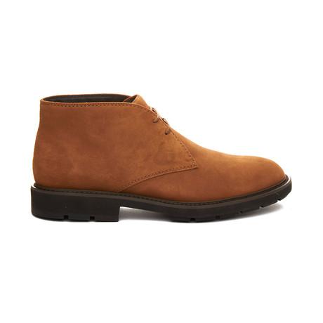 Suede Chukka Desert Boots // Brown (UK 5)