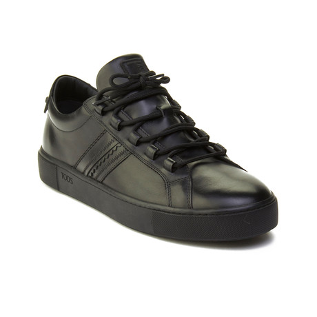 Leather Sneaker // Black (US: 6)