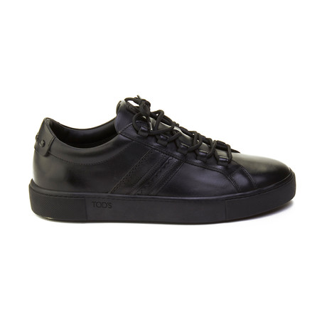 Leather Sneaker // Black (US: 6)