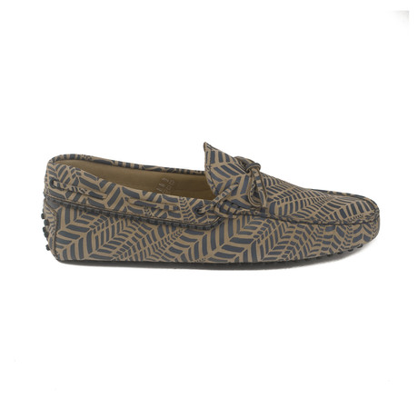 Suede Gommini Driving Loafer // Multicolor (UK 7)