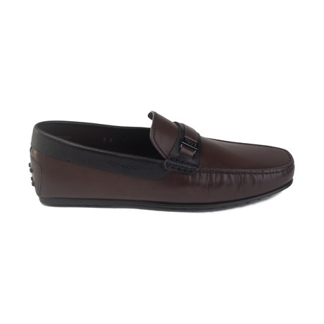 Leather Gommino Penny Loafer // Brown (UK 5)