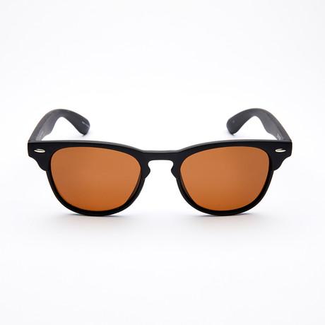Men's Square II Polarized Sunglasses // Black