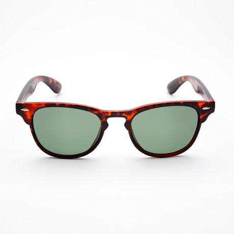 Men's Square II Polarized Sunglasses // Tortoise