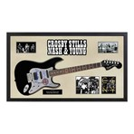 Signed + Framed Guitar // Crosby, Stills, Nash & Young