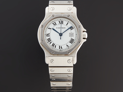 Photo of Inspiring Timepieces Bold & Astounding Watches Cartier Octagonal Santos Automatic // Pre-Owned by Touch Of Modern
