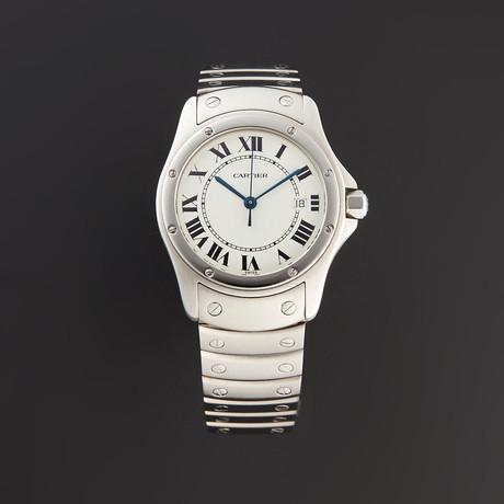 Cartier Round Santos Quartz // C41485 // Pre-Owned