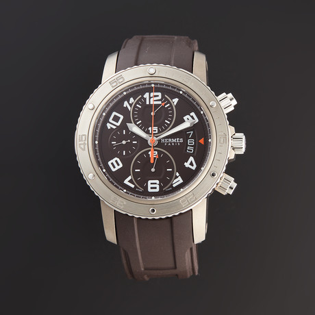 Hermes Clipper Diver Chronograph Automatic // CP2.941 // Pre-Owned