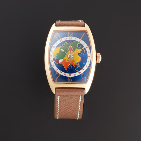 Franck Muller Cloisonne World Map Automatic // 2852WW // Pre-Owned