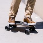 Elos Skateboard // Lightweight Series // Charcoal Black
