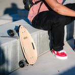 Elos Skateboard // Lightweight Series // Clear Maple