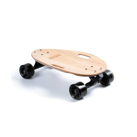 Elos Skateboard // Lightweight Series // Clear Maple
