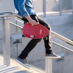 Elos Skateboard // Lightweight Series // Maroon Red
