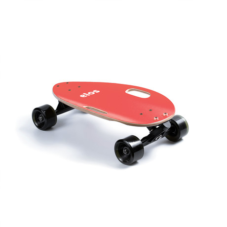 Elos Skateboard // Lightweight Series // Coral Red