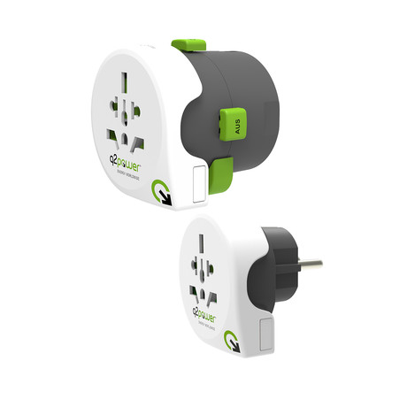 Qdaptor 360 // All-In-One World Travel Adapter