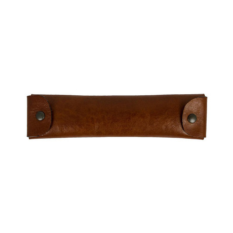 Appointment In Samarra // Leather Pen Case Holder // Brown