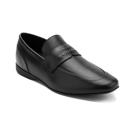 Leather Penny Loafer Dress Shoe // Black (US: 6)