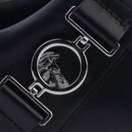 Versace Collection // Medusa Logo Low-Top Sneakers // Black (US: 8)