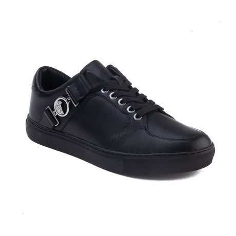 Versace Collection // Medusa Logo Low-Top Sneakers // Black (US: 6)