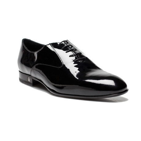 Patent Leather Oxford Lace-Up Dress Shoe // Black (US: 12)