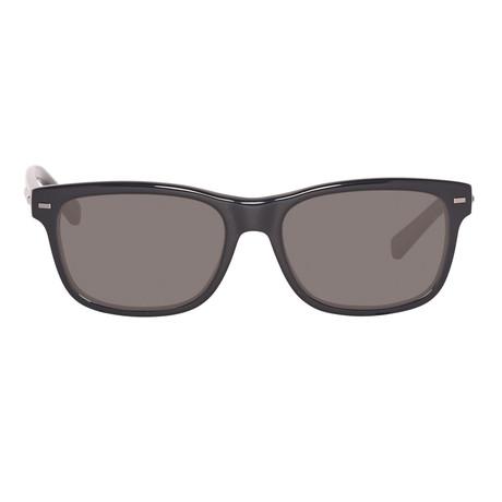 Ermenegildo Zegna // Classic Sunglasses // Black + Gray // Polarized