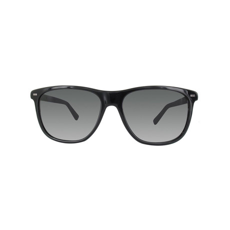 Zegna // Classic Sunglasses // Black + Gray