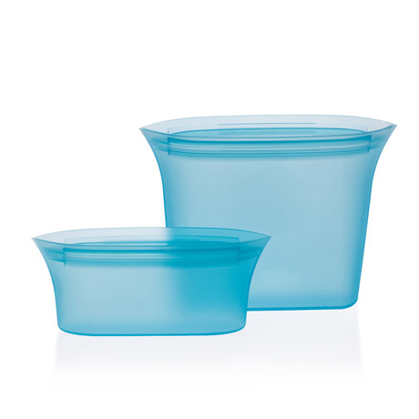 Silicone Food Storage Bags (Blue)