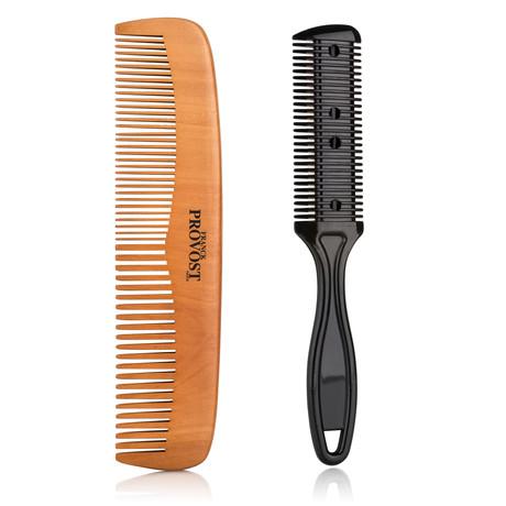 Hair & Shaving Comb Duo