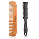 Hair & Shaving Comb Duo