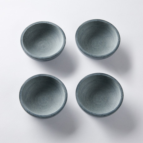 Soapstone Saucer // Set of 4
