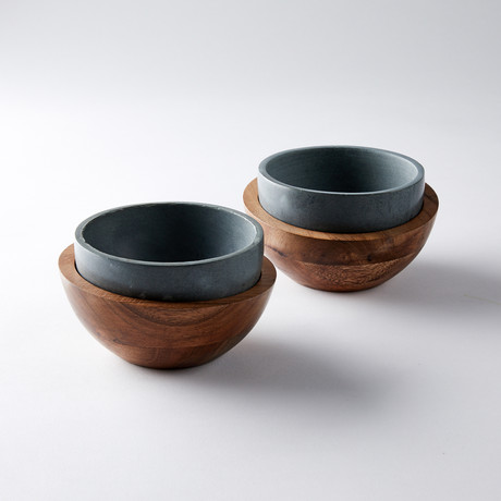 Ice Cream Bowl // Set of 2