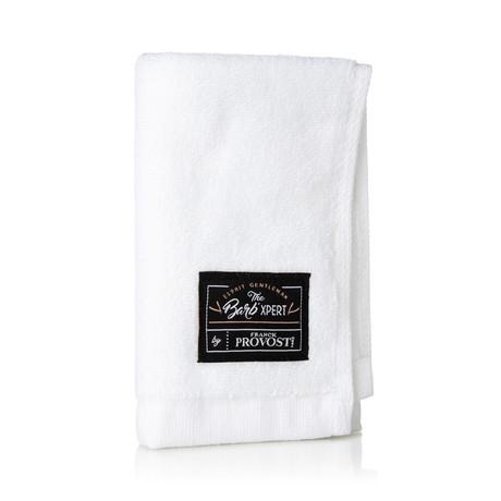 Shaving Facial Wrap Towel // White