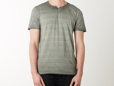 Photo of Projek Raw Fresh Swim Shorts & Tees Dirty Wash V-Neck Pocket Tee // Olive (M) by Touch Of Modern