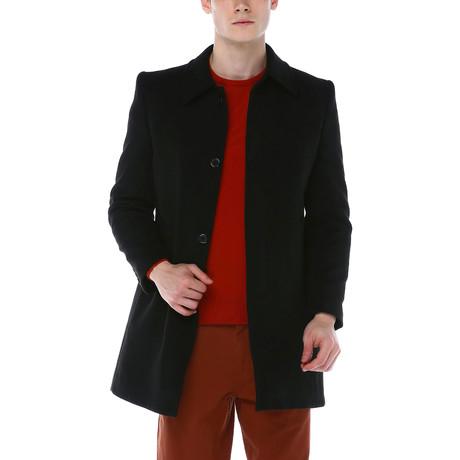 Vienna Overcoat // Black (Small)