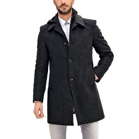 PLT8366 Overcoat // Anthracite (S)