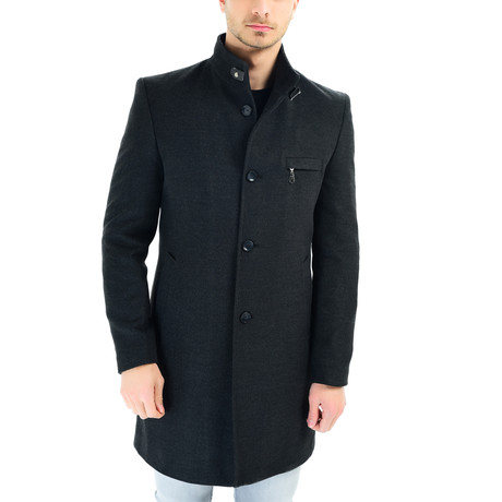 Madrid Overcoat // Anthracite (Small)
