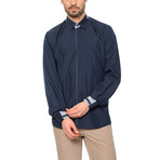 G560 Button-Up Shirt // Dark Blue (L)