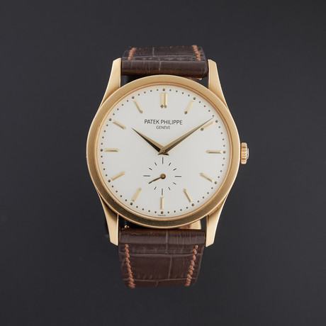 Patek Philippe Calatrava Manual Wind // 5196J-001 // Pre-Owned
