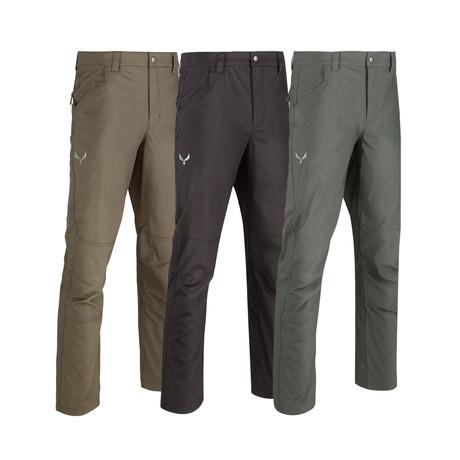 KAOS Light Weight Range Pants // 3-Pack // Gray + Black + Green (32WX32L)