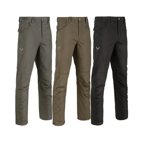 Kaos Medium Weight Range Pants // 3-Pack // Gray + Black + Green (32WX32L)