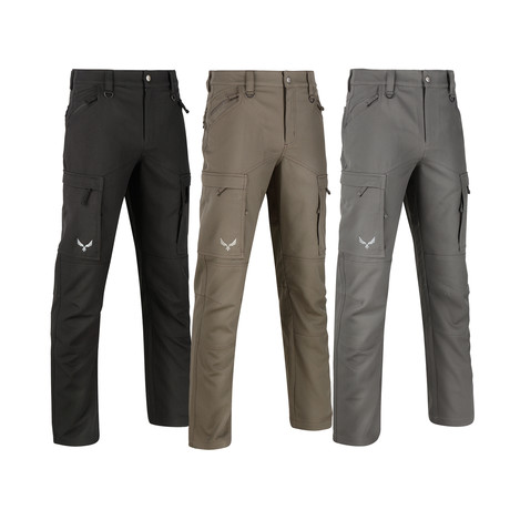 Phantom Heavy Weight Tactical Pants // 3-Pack // Gray + Black + Green (32WX32L)