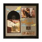Signed + Framed Album Collage // Led Zeppelin