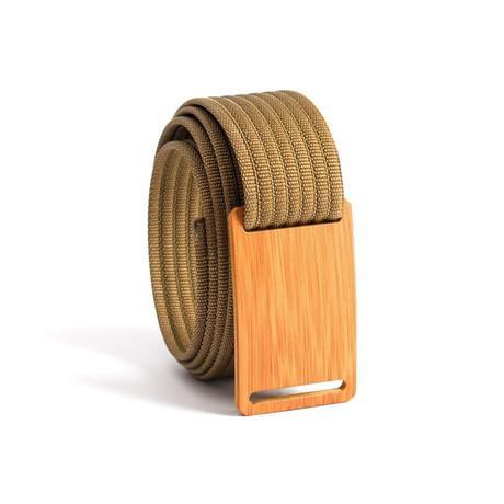 Bamboo Belt Narrow // Khaki Strap (28)