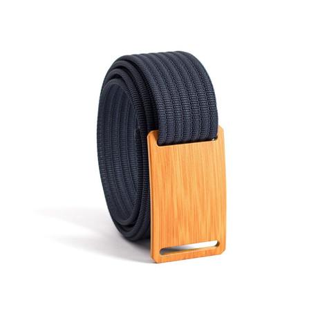 Bamboo Belt Narrow // Navy Strap (28)
