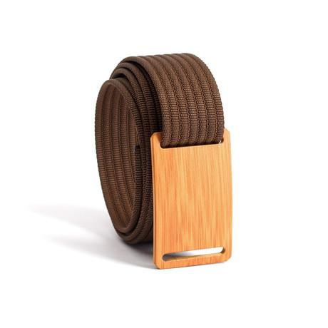 Bamboo Belt Narrow // Mocha Strap (28)