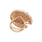 Vintage Giovanni Ferraris 18k Rose Gold Multi-Stone Ring // Ring Size: 6.75