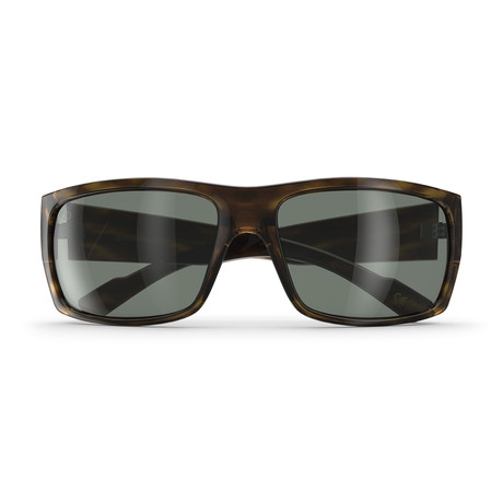 Repeat Offender Polarized // Flat Tortoise + P-1 Retro Gray