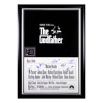 Signed + Framed Poster // The Godfather